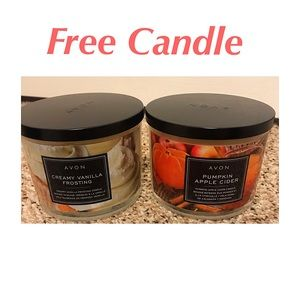 Free Candle With All Sweater Purchase